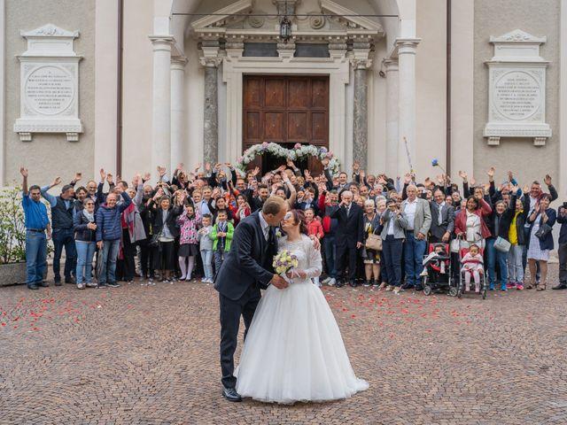 Il matrimonio di Monica e Diego a Mori, Trento 37