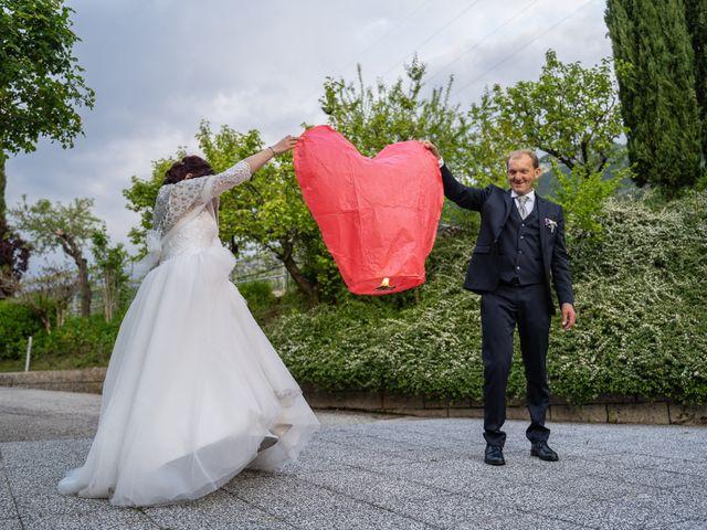 Il matrimonio di Monica e Diego a Mori, Trento 44