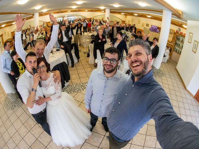 Il matrimonio di Monica e Diego a Mori, Trento 45