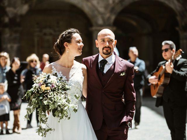 Le nozze di Rachel e Mario