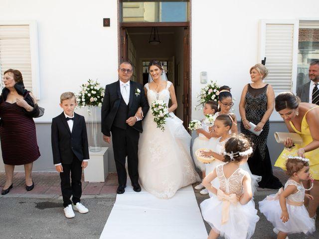 Il matrimonio di Raffaele e Mariangela a San Ferdinando, Reggio Calabria 31