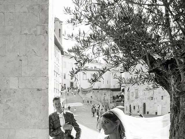 Il matrimonio di Alessio e Serena a Spello, Perugia 17