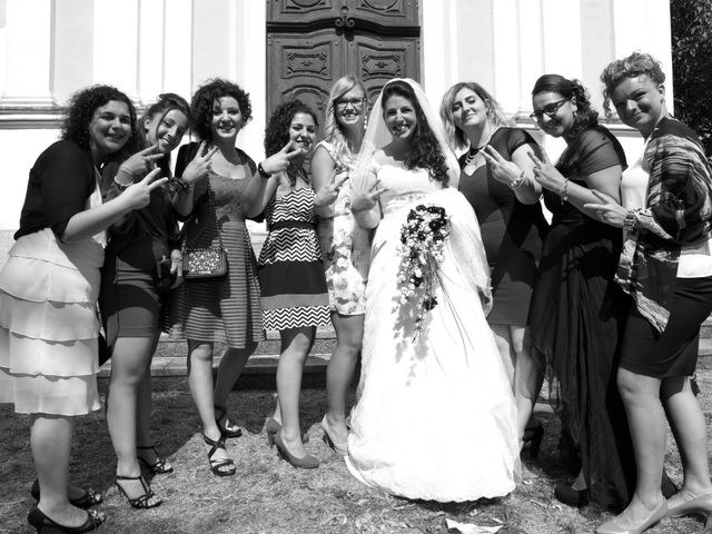 Il matrimonio di Vincenzo e Sonia a Cuceglio, Torino 34