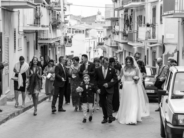 Il matrimonio di Michele e Giulia a Santa Caterina Villarmosa, Caltanissetta 17