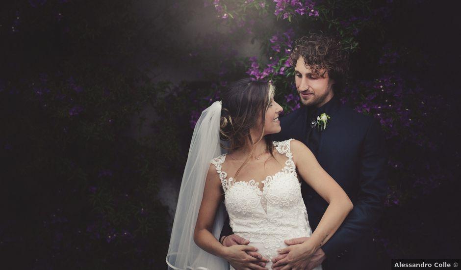 Il matrimonio di Lorenzo e Diletta a Lerici, La Spezia