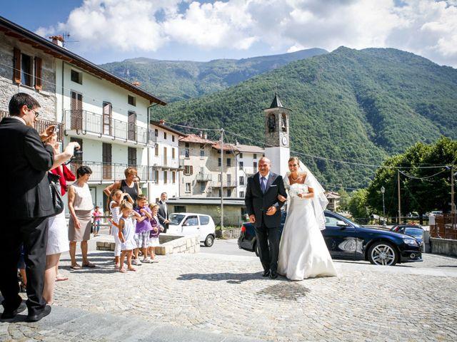 Il matrimonio di Simone e Lucia a Cortenova, Lecco 7