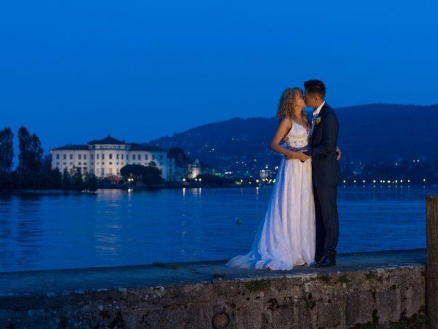 Le nozze di Valentina e Kenzo