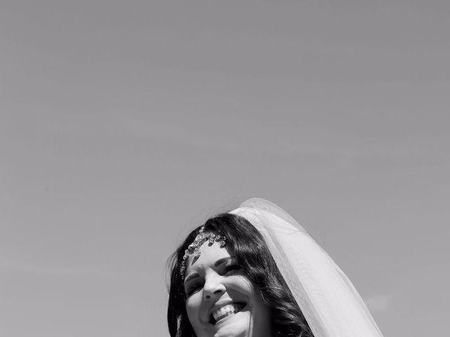 Il matrimonio di Giuseppe e Kerry a San Gimignano, Siena 3