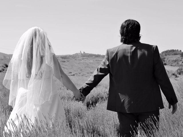 Il matrimonio di Giuseppe e Kerry a San Gimignano, Siena 1
