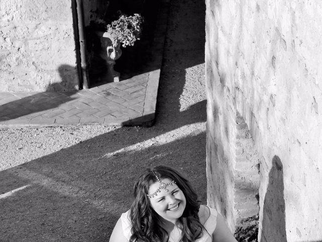 Il matrimonio di Giuseppe e Kerry a San Gimignano, Siena 8
