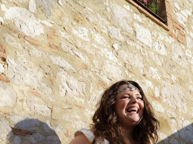 Il matrimonio di Giuseppe e Kerry a San Gimignano, Siena 9
