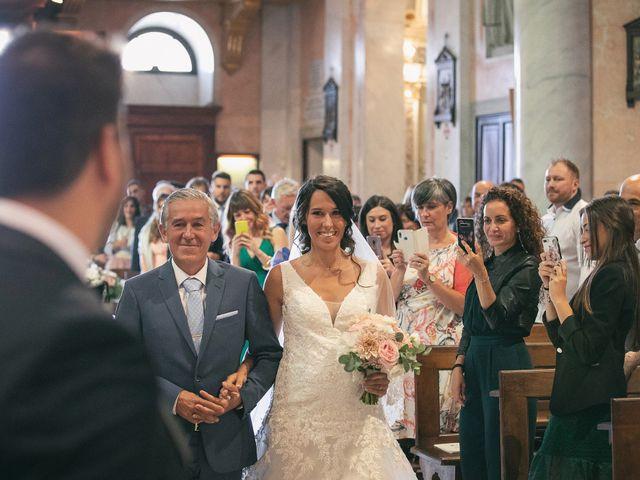Il matrimonio di Luca e Gretha a Calco, Lecco 20