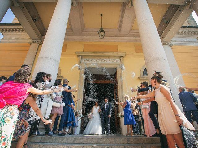 Il matrimonio di Luca e Gretha a Calco, Lecco 24