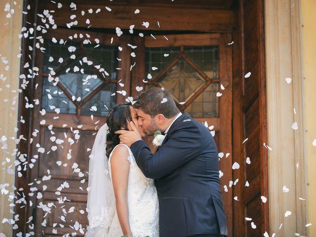 Il matrimonio di Luca e Gretha a Calco, Lecco 25