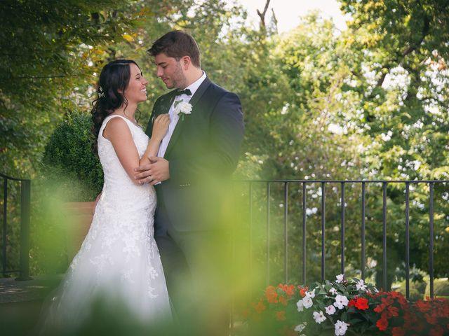 Il matrimonio di Luca e Gretha a Calco, Lecco 32