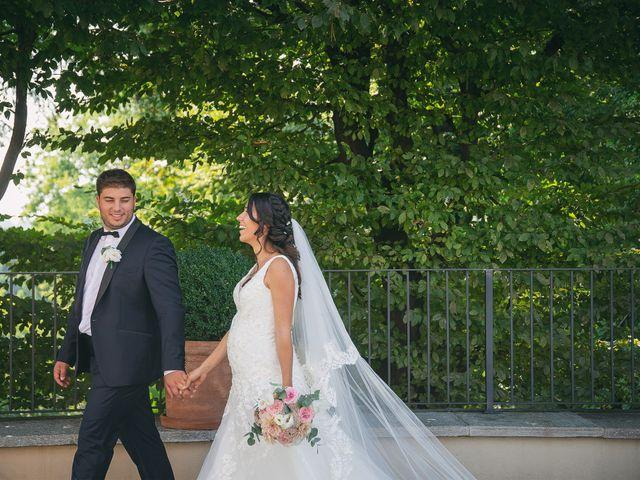 Il matrimonio di Luca e Gretha a Calco, Lecco 34