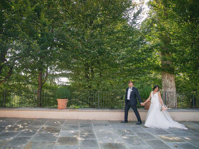 Il matrimonio di Luca e Gretha a Calco, Lecco 36
