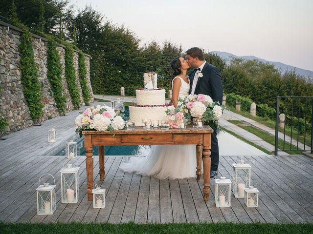 Il matrimonio di Luca e Gretha a Calco, Lecco 42