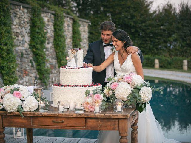Il matrimonio di Luca e Gretha a Calco, Lecco 43