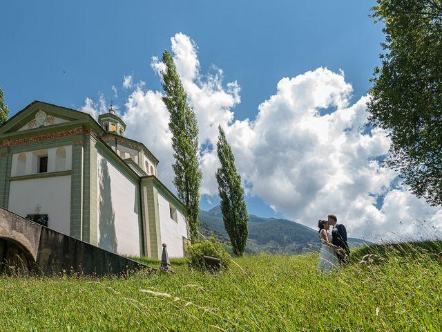 Il matrimonio di Daniele e Alessia a Gravedona, Como 23