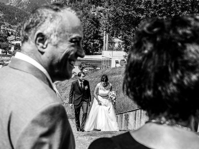 Il matrimonio di Daniele e Alessia a Gravedona, Como 34