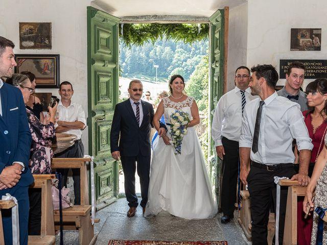 Il matrimonio di Daniele e Alessia a Gravedona, Como 36