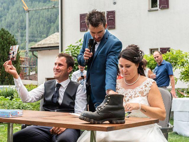 Il matrimonio di Daniele e Alessia a Gravedona, Como 83