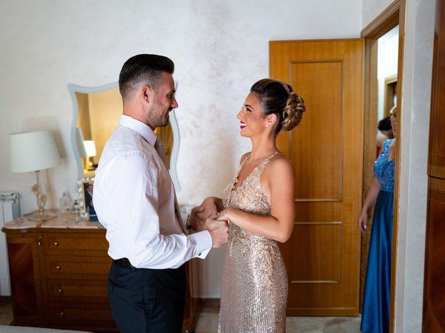 Il matrimonio di Crescentino e Giovanna a Belmonte Mezzagno, Palermo 2