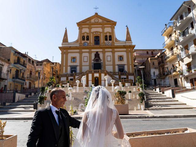 Il matrimonio di Crescentino e Giovanna a Belmonte Mezzagno, Palermo 29