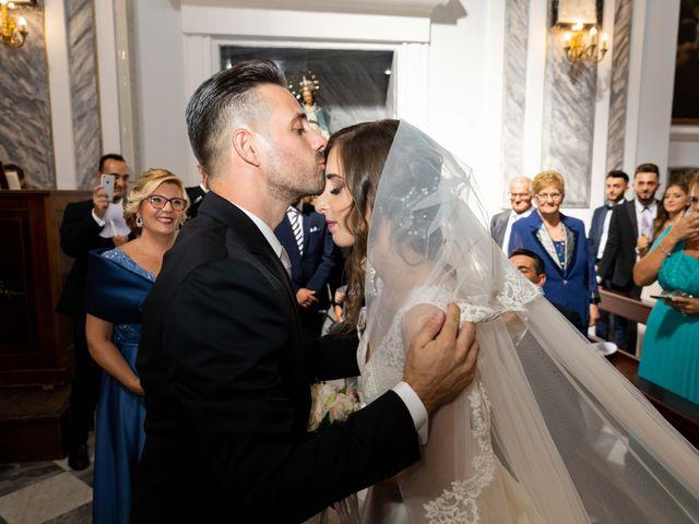 Il matrimonio di Crescentino e Giovanna a Belmonte Mezzagno, Palermo 31