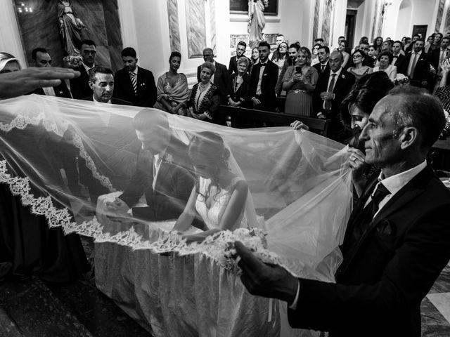 Il matrimonio di Crescentino e Giovanna a Belmonte Mezzagno, Palermo 33