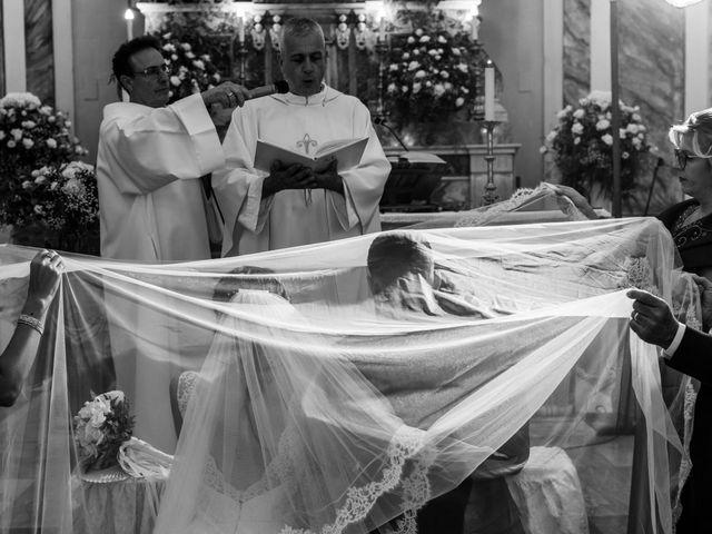 Il matrimonio di Crescentino e Giovanna a Belmonte Mezzagno, Palermo 34
