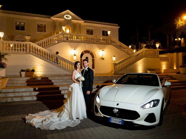 Il matrimonio di Crescentino e Giovanna a Belmonte Mezzagno, Palermo 38
