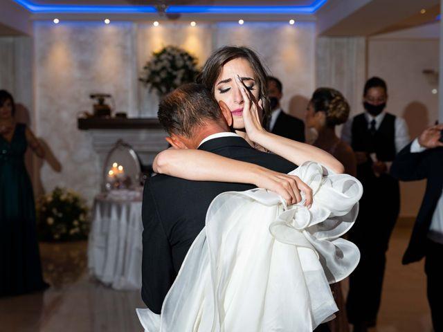 Il matrimonio di Crescentino e Giovanna a Belmonte Mezzagno, Palermo 41