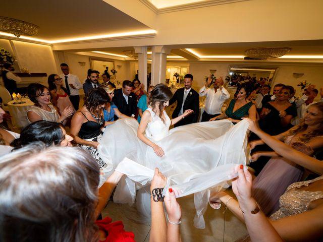 Il matrimonio di Crescentino e Giovanna a Belmonte Mezzagno, Palermo 42
