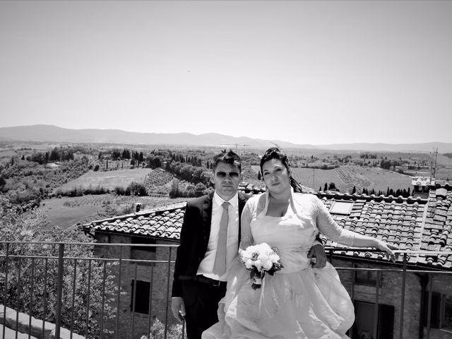 Il matrimonio di Stefano e Rosa a San Gimignano, Siena 5