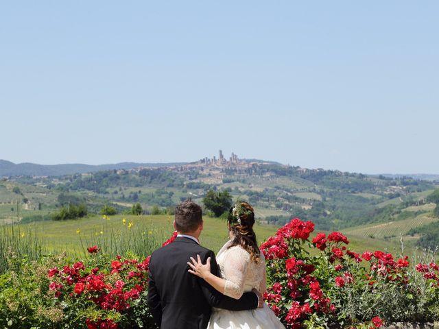 Il matrimonio di Stefano e Rosa a San Gimignano, Siena 9