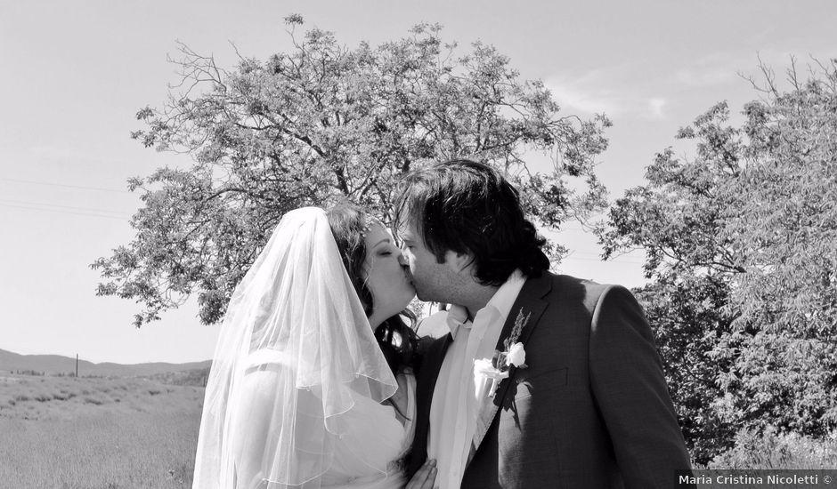 Il matrimonio di Giuseppe e Kerry a San Gimignano, Siena