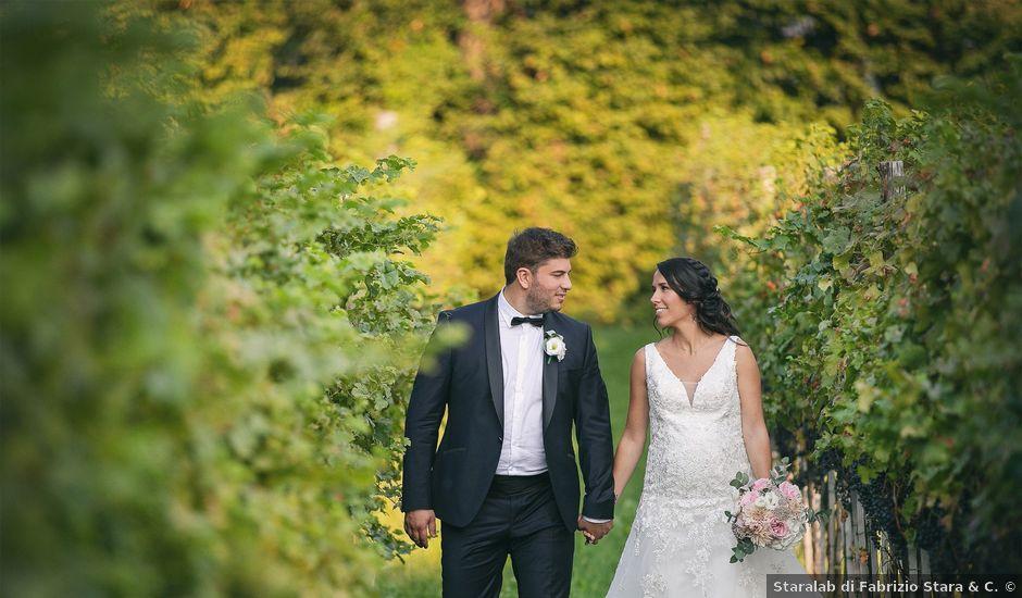 Il matrimonio di Luca e Gretha a Calco, Lecco