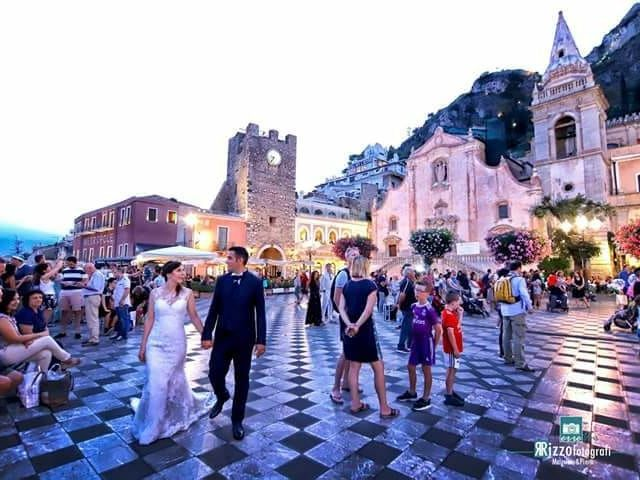 Il matrimonio di Filippo e Veronica a Taormina, Messina 1