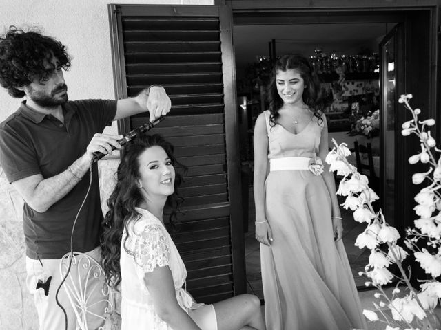 Il matrimonio di Giuseppe e Nadia a Santa Flavia, Palermo 1