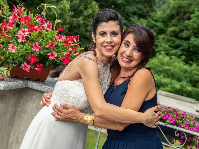 Il matrimonio di Graziano e Francesca a Gravedona, Como 25