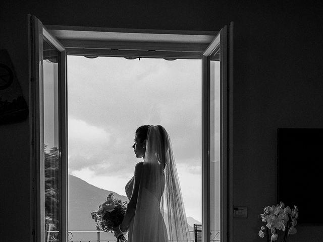 Il matrimonio di Graziano e Francesca a Gravedona, Como 27