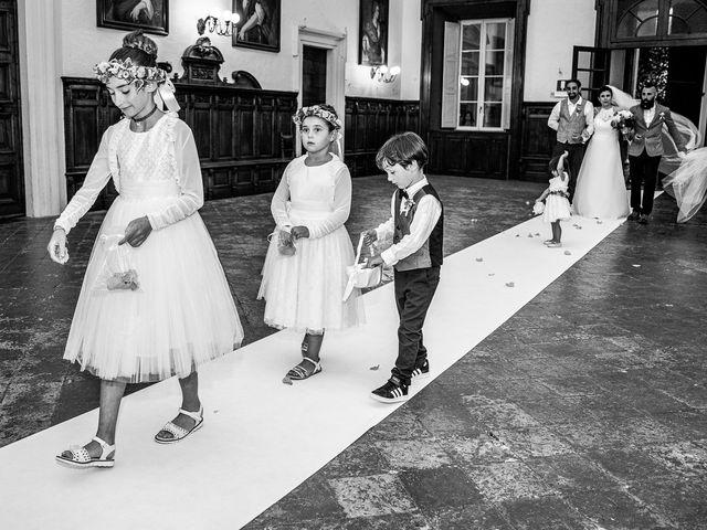 Il matrimonio di Graziano e Francesca a Gravedona, Como 32
