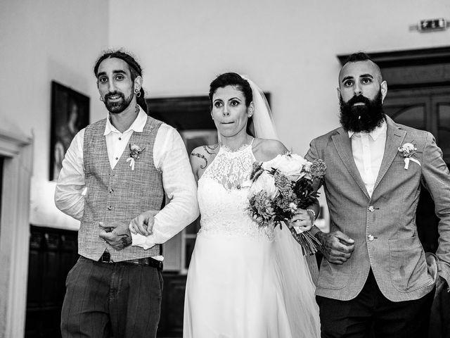 Il matrimonio di Graziano e Francesca a Gravedona, Como 34
