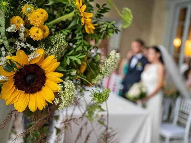 Il matrimonio di Graziano e Francesca a Gravedona, Como 35