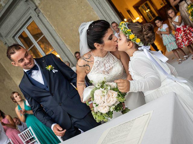 Il matrimonio di Graziano e Francesca a Gravedona, Como 36