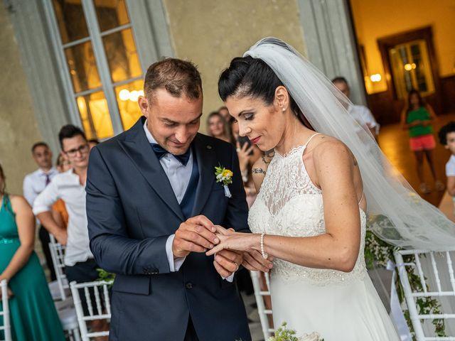 Il matrimonio di Graziano e Francesca a Gravedona, Como 37