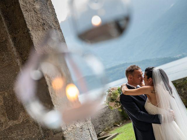 Il matrimonio di Graziano e Francesca a Gravedona, Como 45