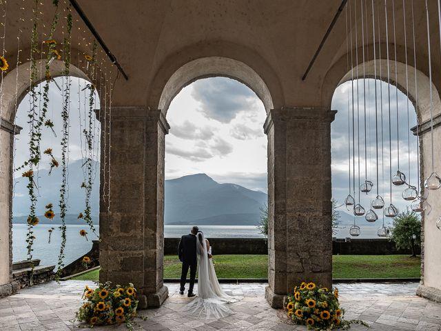 Il matrimonio di Graziano e Francesca a Gravedona, Como 46